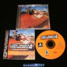 Tony Hawk's Pro Skater 4 - Sony PS1 - Complete CIB - Black Label Original Release