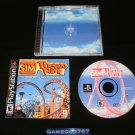 Sim Theme Park - Sony PS1 - Complete CIB