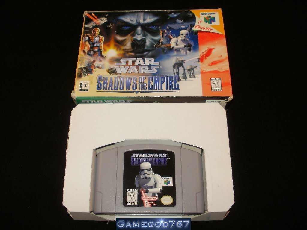 Star Wars Shadows of the Empire - N64 Nintendo - With Box