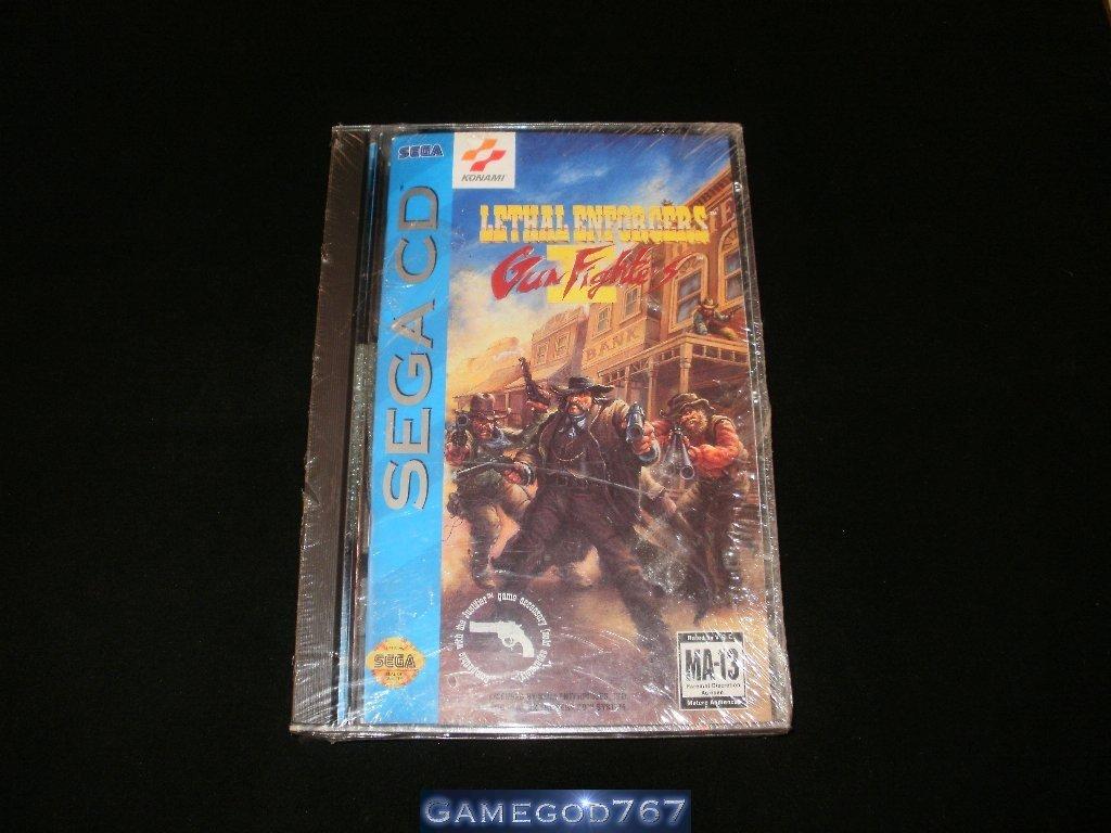 Lethal Enforcers II - Sega CD - Brand New