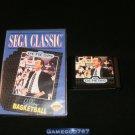 Pat Riley Basketball - Sega Genesis - With Box