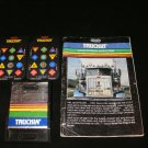Truckin - Mattel Intellivision - With Manual, Map & Overlays - Rare