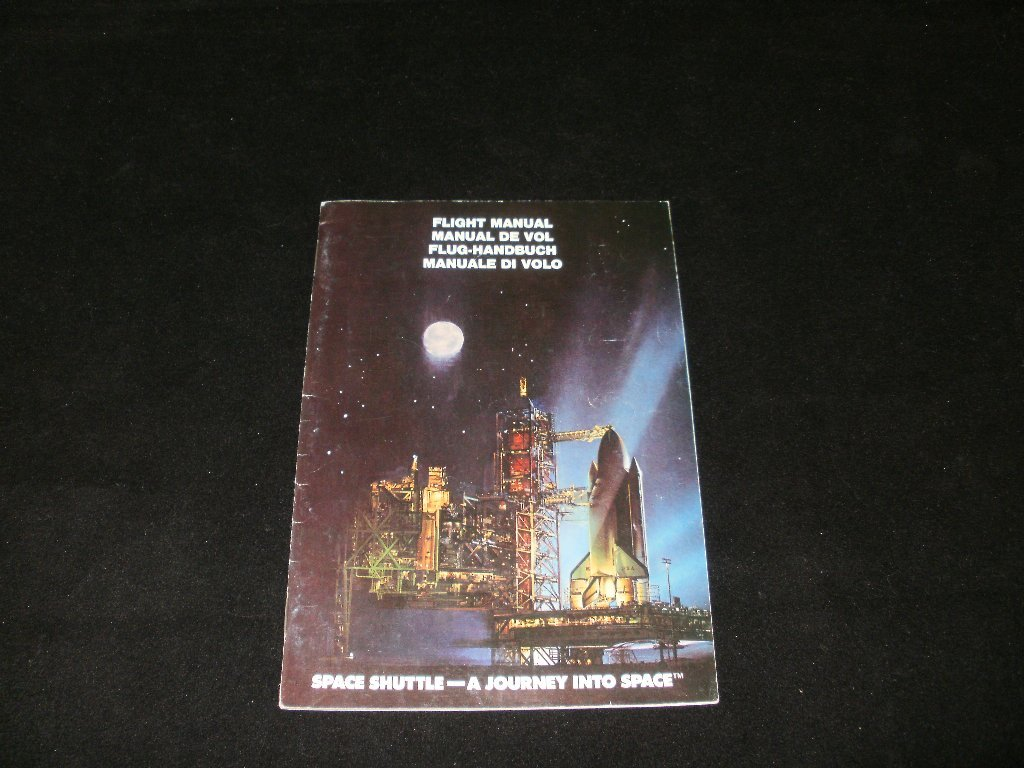 Space Shuttle A Journey Into Space - Atari 2600 - Manual Only
