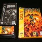 Doom - Sega 32X -Complete CIB