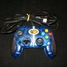 Madcatz MicroCon Control Pad - Xbox - Clear Blue