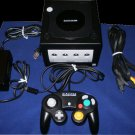 Refurbished Black Nintendo GameCube System - With Hookups & Controller - With Digital Out