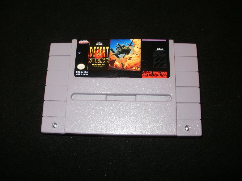 Desert Strike Snes Super Nintendo