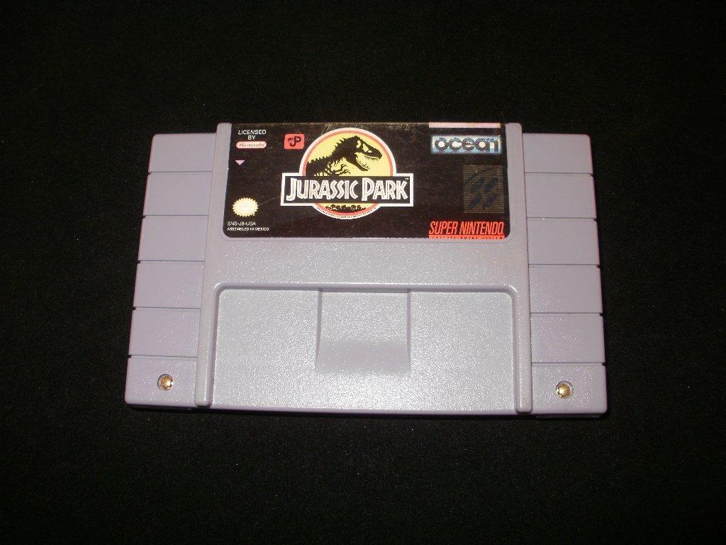 Jurassic Park - SNES Super Nintendo