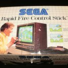 Rapid Fire Control Stick - Sega Master System - Complete CIB - Extremely Rare