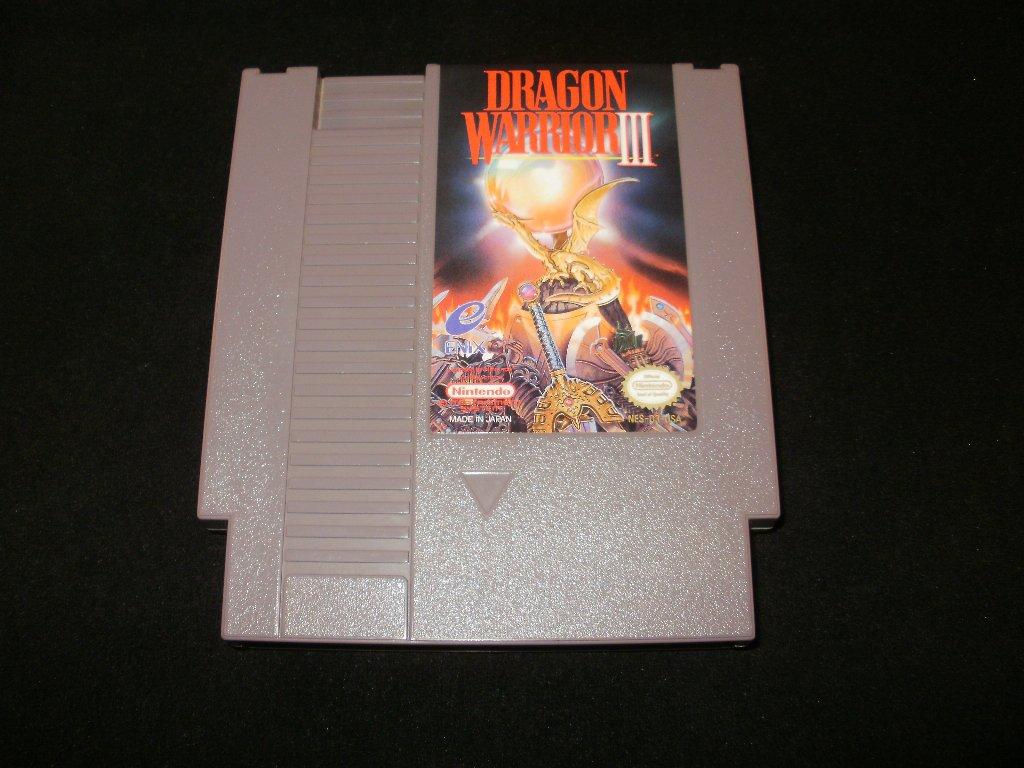 Dragon Warrior III - Nintendo NES - Rare