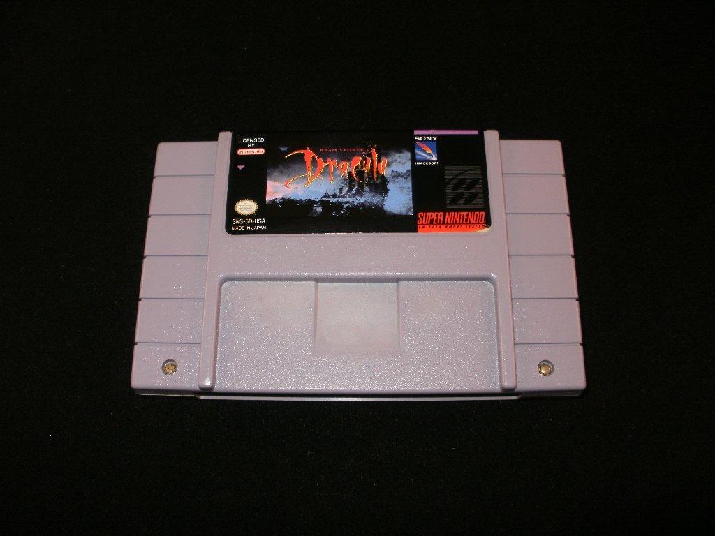 Bram Stoker's Dracula - SNES Super Nintendo