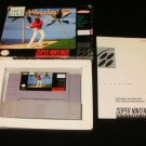 Waialae Country Club - SNES Super Nintendo - With Box