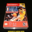Kobe Bryant in NBA Courtside - N64 Nintendo - With Manual & Custom Case