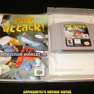 Rat Attack - N64 Nintendo - With Manual & Custom Case - Rare