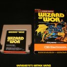 Wizard of Wor - Atari 5200 - With Box - Rare
