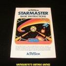 Starmaster - Atari 2600 - Manual Only