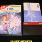 Strider - Sega Master System - Complete CIB - Rare USA Release