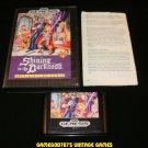 Shining in the Darkness - Sega Genesis - Complete CIB