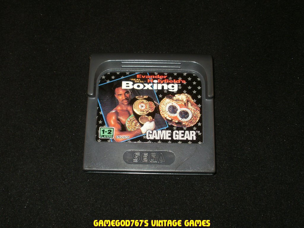 Evander Holyfield's Real Deal Boxing - Sega Game Gear