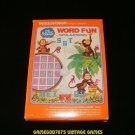 Word Fun - Mattel Intellivision - Complete CIB