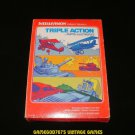 Triple Action - Mattel Intellivision - Complete