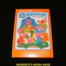 Math Fun - Mattel Intellivision - Complete CIB - Rare