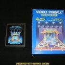 Video Pinball - Atari 2600 - Complete CIB