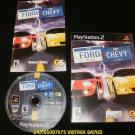 Ford vs Chevy - Sony PS2 - Complete CIB