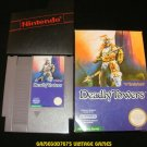 Deadly Towers - Nintendo NES - With Box