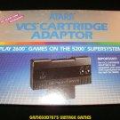 VCS Cartridge Adaptor - Atari 5200 - Complete CIB