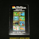 Activision Game Catalog - Atari 2600 - 1981 Version