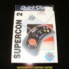 Quickshot Supercon 2 Gamepad - SNES Super Nintendo - Brand New Factory Sealed