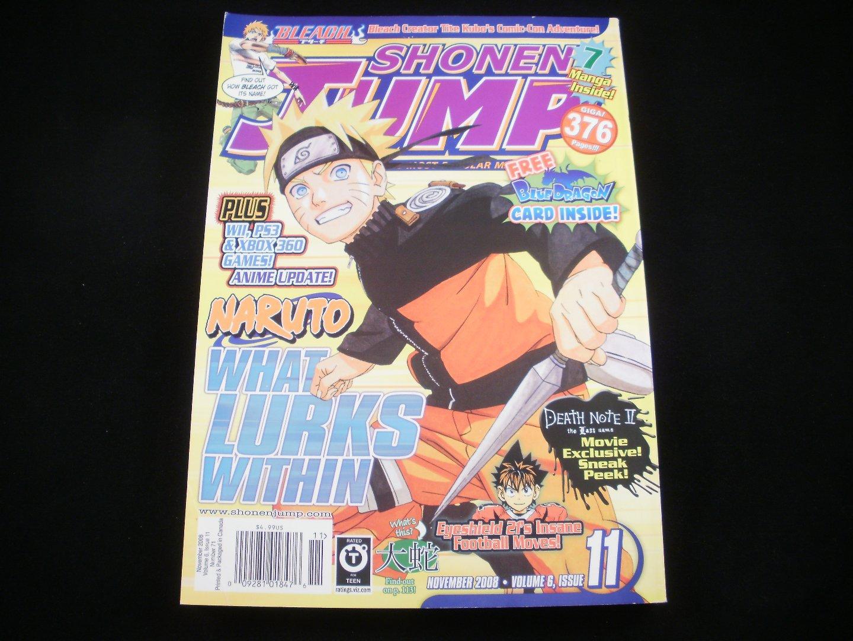 Shonen Jump - November 2008 - Volume 6, Issue 11, Number 71