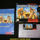 Battle Blaze - SNES Super Nintendo - Complete CIB