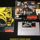 Batman Returns - SNES Super Nintendo - Complete CIB