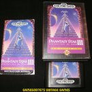 Phantasy Star III - Sega Genesis - Complete CIB