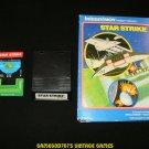 Star Strike - Mattel Intellivision - With Box & Overlay - White Label Version