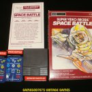 Space Battle - Mattel Intellivision - Complete - Sears Tele-Games Version