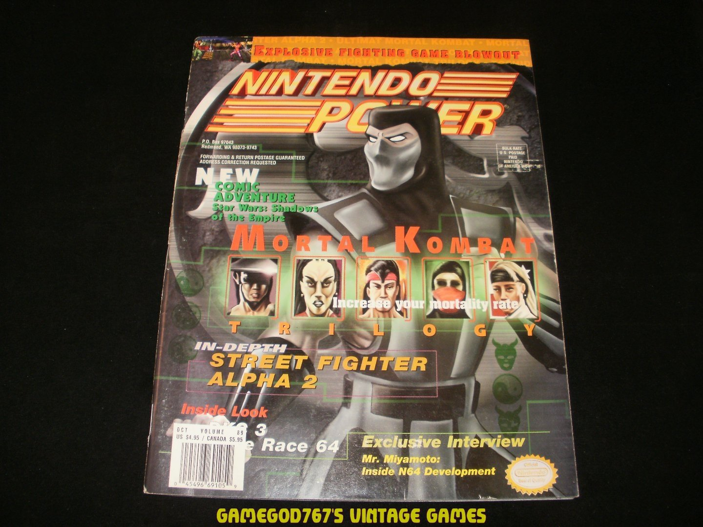 Nintendo Power - Issue No. 89 - October, 1996