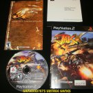 Jak X Combat Racing - Sony PS2 - Complete CIB - Black Label Release