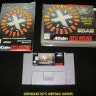 Revolution X - SNES Super Nintendo - Complete CIB