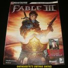 Fable III Strategy Guide - BradyGames (2010) - Paperback