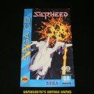 Silpheed - Sega CD - Manual Only