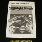 Midnight Magic - Atari 2600 - Manual Only