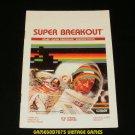 Super Breakout - Atari 2600 - Manual Only