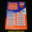 Game Genie Code Update Book - Galoob 1991 - Volume 1, No.2 - Rare