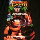 Donkey Kong Land Poster - Nintendo Power February, 1995 - Never Used