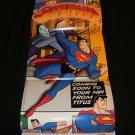 Superman Poster - Nintendo Power November, 1998 - Never Used