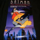 Batman The Animated Series Poster - Nintendo Power November, 1993 - Never Used