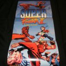 Super Street Fighter 2 Turbo Poster Revival - Nintendo Power July, 2001 - Never Used